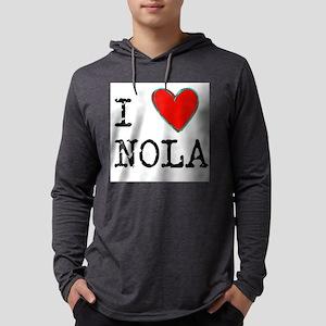 I Love NOLA Long Sleeve T-Shirt