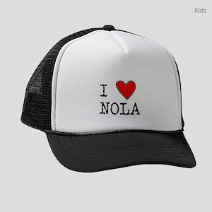 I Love NOLA Kids Trucker hat