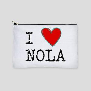 I Love NOLA Makeup Bag