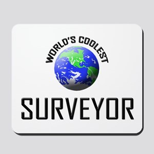 World's Coolest SURVEYOR Mousepad