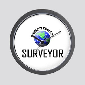 World's Coolest SURVEYOR Wall Clock