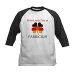 Fabricius Family Kids Baseball Jersey