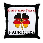 Fabricius Family Throw Pillow