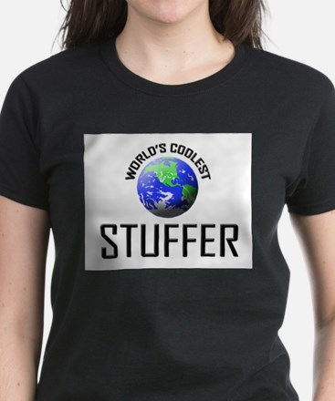 World's Coolest STUFFER Women's Dark T-Shirt