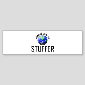World's Coolest STUFFER Bumper Sticker