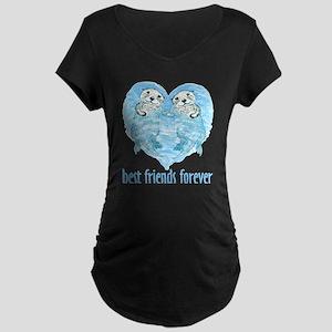 best friends forever Maternity Dark T-Shirt