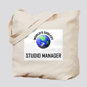 World's Coolest STUDIO MANAGER Tote Bag