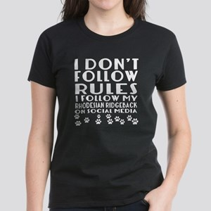 I Follow My Rhodesian Ridg Women's Classic T-Shirt