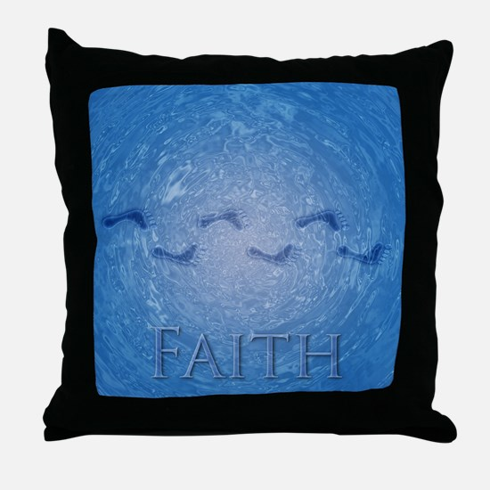 Faith Gifts for Believers Throw Pillow