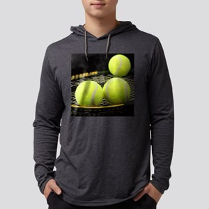 Tennis Balls And Racquet Long Sleeve T-Shirt
