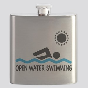 open water swimming Flask
