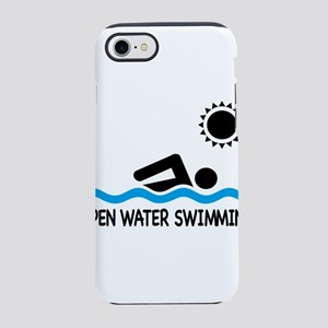 open water swimming iPhone 8/7 Tough Case