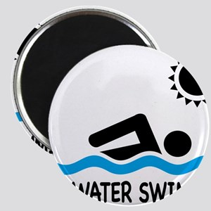 open water swimming Magnets