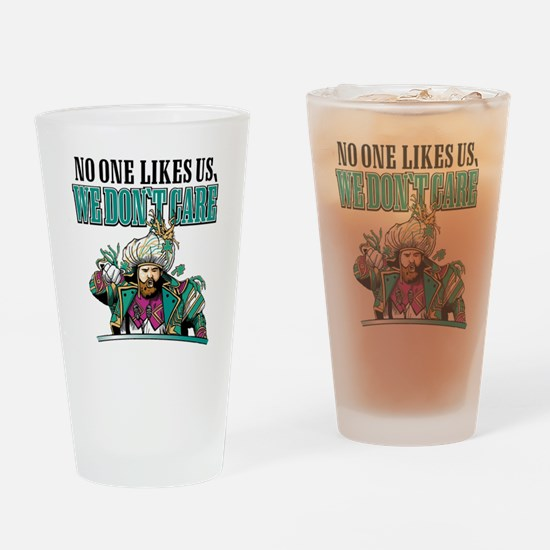 Unique Us Drinking Glass