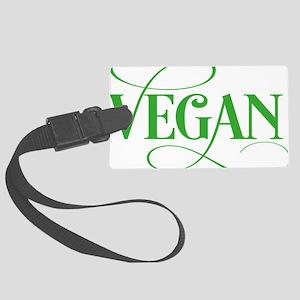 vegan Large Luggage Tag
