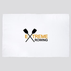 extreme rowing 4' x 6' Rug