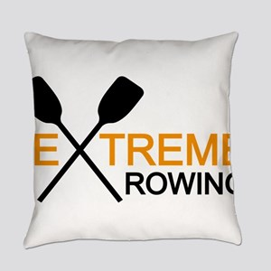 extreme rowing Everyday Pillow