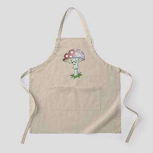 Gothic Mushroom BBQ Apron