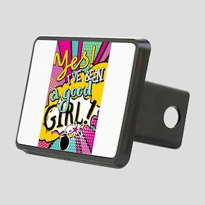 Girl Power Rectangular Hitch Cover