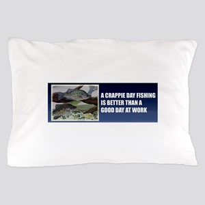 Crappie Fishing Pillow Case