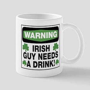 Warning Irish Guy Mug