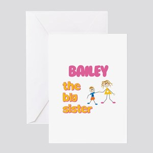 Bailey - The Big Sister Greeting Card