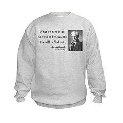 Bertrand Russell 4 Sweatshirt