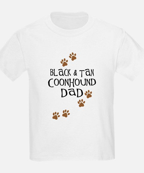 Black & Tan Coonhound Dad T-Shirt