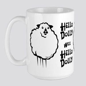 Hello Dolly Sheep Large Mug