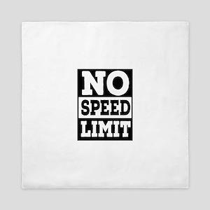 speed limit Queen Duvet