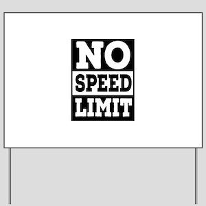 speed limit Yard Sign