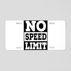 speed limit Aluminum License Plate