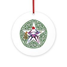 Lovers' Pentagram Keepsake (Round)