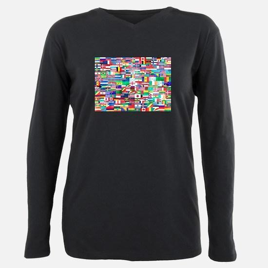 World Flag Collage T-Shirt