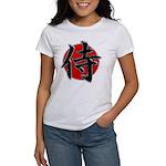 Japanese Samurai Symbol Women's T-Shirt