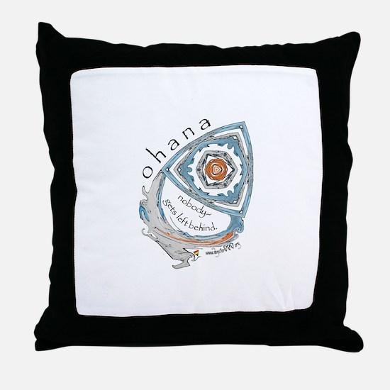 Ohana (Family) Throw Pillow