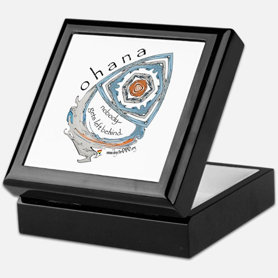 Ohana (Family) Keepsake Box