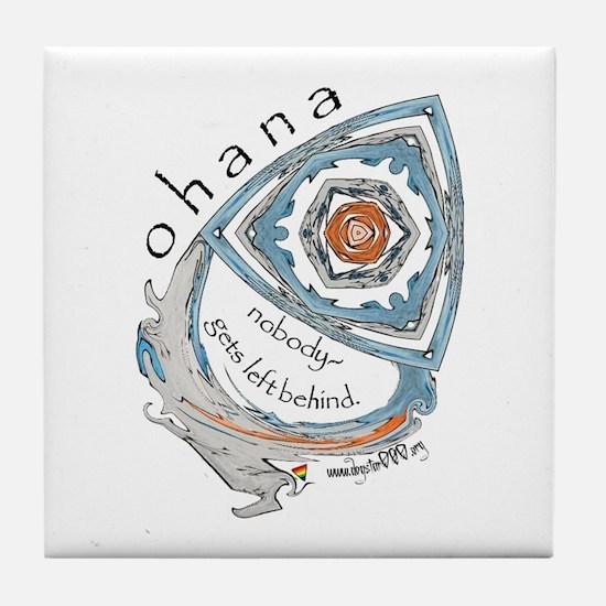 Ohana (Family) Tile Coaster