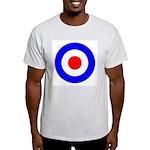 Mod Target Ash Grey T-Shirt