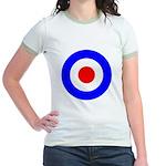 Mod Target Jr. Ringer T-Shirt
