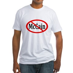 Red Slash Through McCain T-Shirt