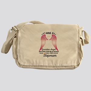My Stepmom Is My Guardian Angel Messenger Bag