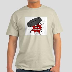 """""""PUCK"""" Parkinson's 1 Light T-Shirt"""