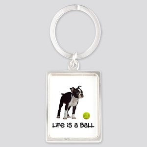 Boston Terrier Life Keychains
