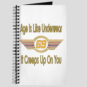 Funny 69th Birthday Journal