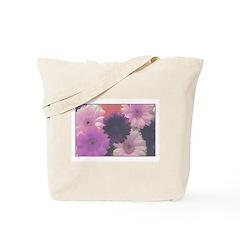 Perfect Purple Daisy Tote Bag