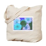 Blue Moon Daisy Tote Bag