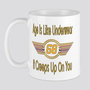 Funny 68th Birthday Mug