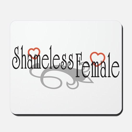 Shameless Female Mousepad