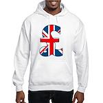 Union Jack Pound Hooded Sweatshirt